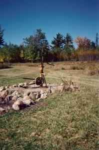 Farm pump Two paths