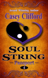 Soul String: Passport, Book 4. Available now.