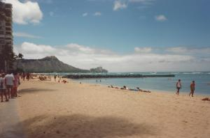 Looking toward Diamond Head